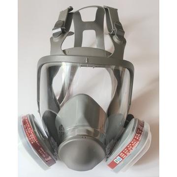 Maska pełnotwarzowa seria 6800 M NOWA FVAT