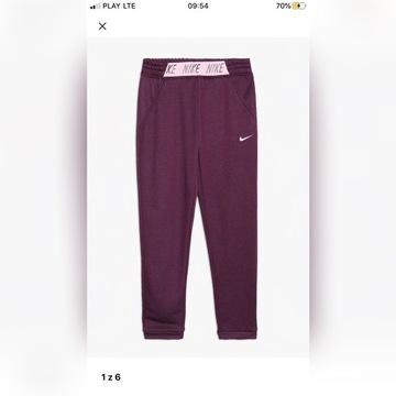 Nowe spodnie sportowe Nike sportswear 158-170 róż