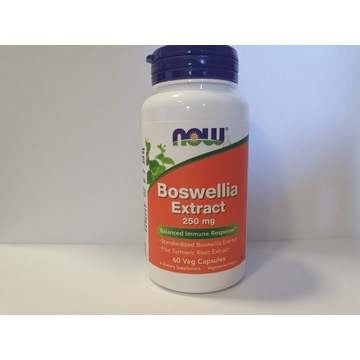 NOW Foods Boswellia Extract 250 mg COMPLEX – 60 ka