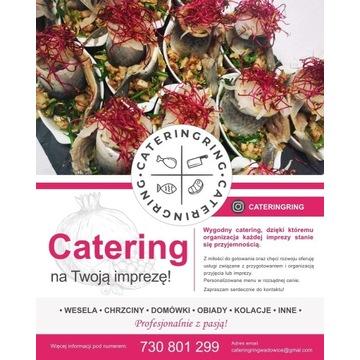 Catering wesele komunia chrzciny tanio Profesional