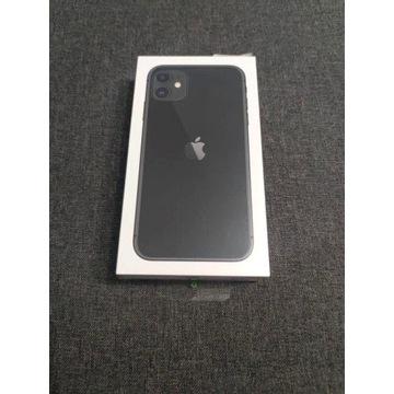 iPhone 11 Black 64GB zalakowany