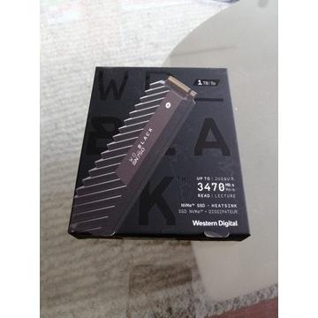DYSK SSD WD BLACK SN750 1TB WAWA GW