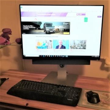 Komputer PC, Monitor DELL U2415, keyboard mouse