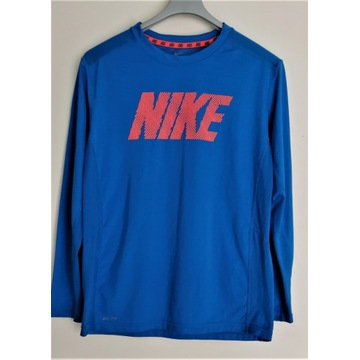 sportowy longsleeve,bluza treningowa,termo Nike
