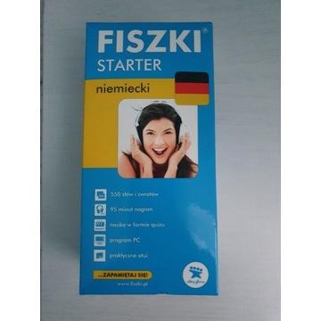 FISZKI starter niemiecki NOWE