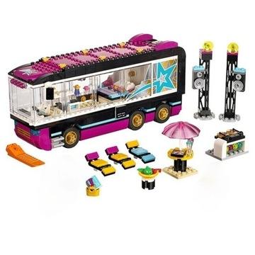 Wóz koncertowy Gwiazdy Pop klocki z LEGO kompatyb.