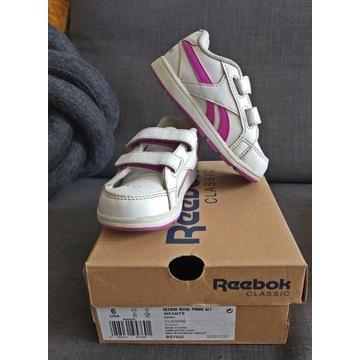 Buty sportowe reebok R22 rzepy długość wkładki 15c