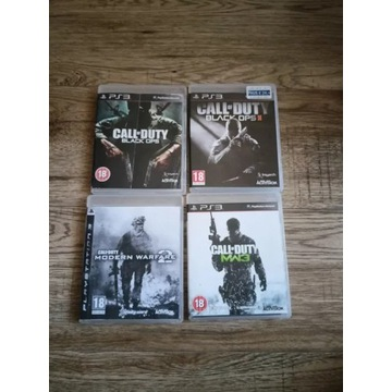 Zestaw Gier Call of Duty PlayStation 3 (PS3) STAN