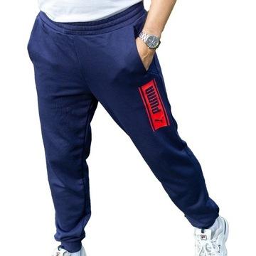 Spodnie męskie sportowe Puma nowe rozmiar l