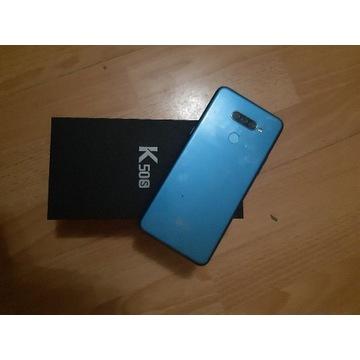 Lg K50s blue