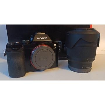 Sony A7 (ILCE-7) + SONY FE28-70 GWARANCJA