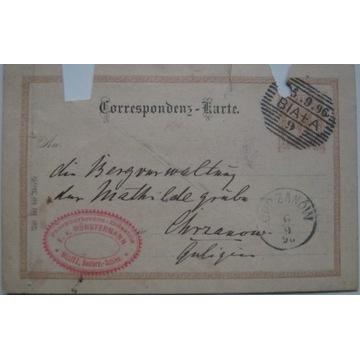 Bielsko Biała Enno von Münstermann 1896 r