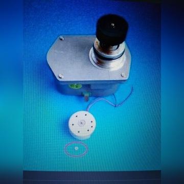 Kółko zębate mosiężne do silnika serwomotoru
