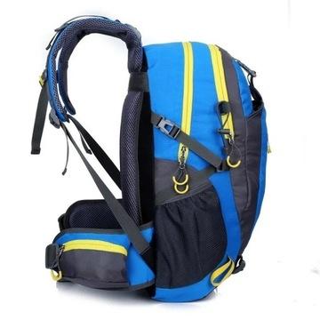 Plecak wspinaczkowy trekkingowy, wodoodporny 40l