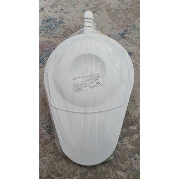 Basen sanitarny przyłóżkowy/podsuwacz+kaczka męska