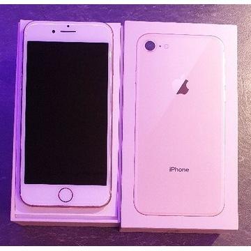 iPhone 8 128GB gold używany na gwarancji od 1zł