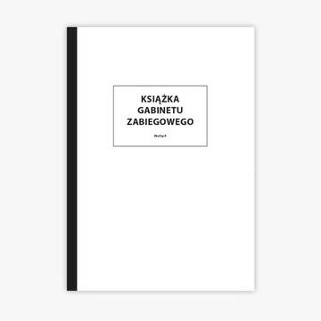 2 x Książka gabinetu zabiegowego A4
