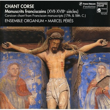 CD - Ensemble Organum, Marcel Pérès - Chant Corse