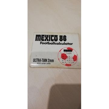 MEXICO 86 footballkalkulator