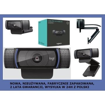 LOGITECH C920 PRO HD - kamerka internet., NOWA, PL