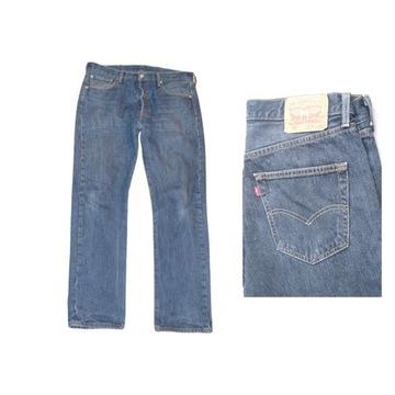 Męskie jeansy LEVIS model 501, W34 L32