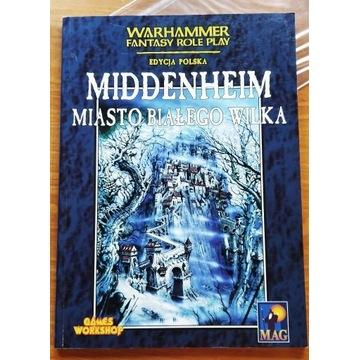 Warhammer WFRP Middenheim miasto białego wilka