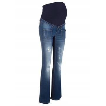 Spodnie jeansowe ciążowe r.50