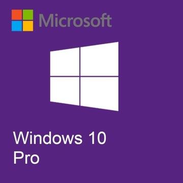 Windows 10 Pro 32/64BIT ORYGINAŁ