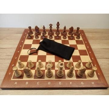 Drewniane bierki szachy Staunton 6 król 9,6cm
