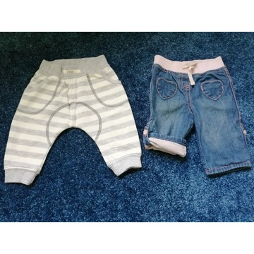 Spodnie dla dziecka rozm. 62