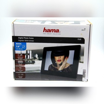 RAMKA CYFROWA HAMA SLIMLINE BASIC 7 (95277)