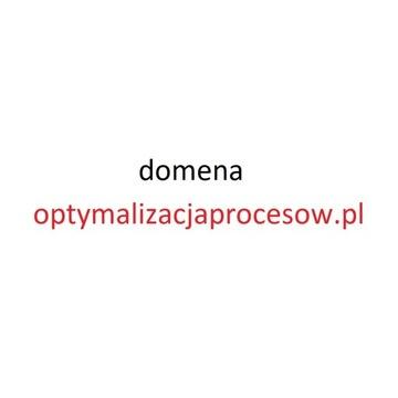 Unikatowa domena optymalizacjaprocesow.pl