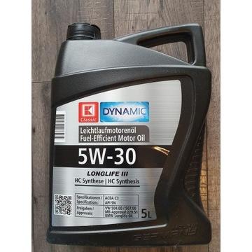 Nowy oryginalnie zamknięty olej  5w30 5L