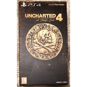 PS4 Uncharted 4 Libertalia Collector's Edition