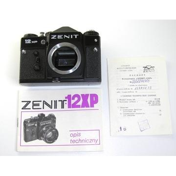 Zenit 12XP body uszk. + instrukcja PL, LICYTACJA