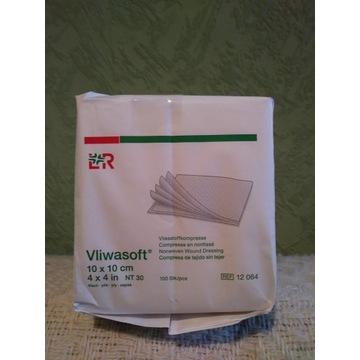 Kompres włókninowy Vliwasoft 10x10 100 szt