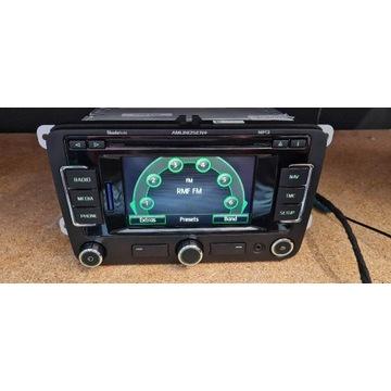 Skoda Octavia Radio Cd Mp3 NAWIGACJA 3T0035192BB