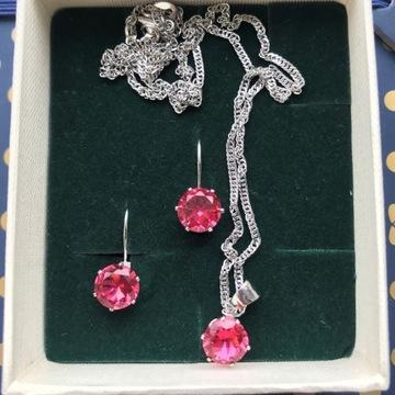 Biżuteria, zestaw z kolczykami