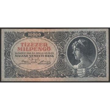 Węgry 10000 pengo 1946 - seria A021