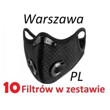 Maska antysmogowa N99 FFP3 PL24h   10 filtrów  