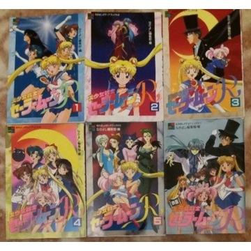 Zestaw animebookow Sailor Moon R z Japonii