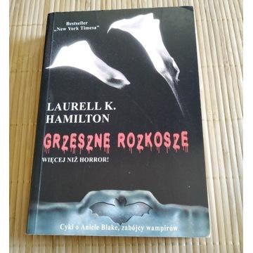 Grzeszne Rozkosze Laurell K. Hamilton