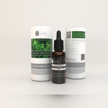 Olej Konopny RAW CBD 5% 15ml Essenz 750mg OKAZJA