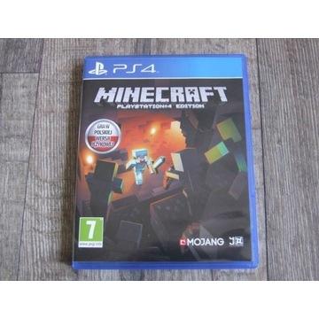 Minecraft POLSKA WERSJA ps4 playstation4 WROCŁAW