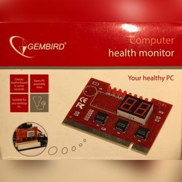 Tester płyt głównych na PCI - Gembird CHM-002