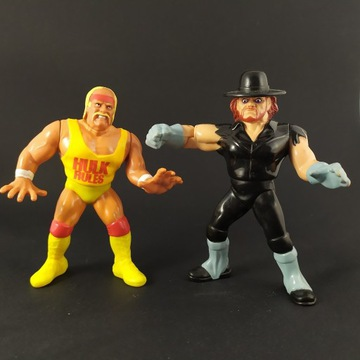 Figurki WWF UNDERTAKER & Hulk Hogan 1993 Wrestling