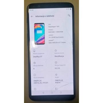 OnePlus 5T najlepszy: 8GB/128GB A5010 patrz foto