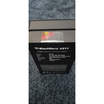 Blackberry Key 2 Nowy 6/128 gwarancja 24 miesiące