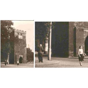 LEGNICA -- BRAMA GŁOGOWSKA -- PIESI -- 1962