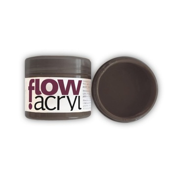 Farba akrylowo-winylowa Flow Acryl - raw umber